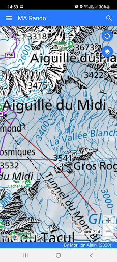 GPS for Hiking, Cycling, Hunting and offline maps modavailable screenshots 1