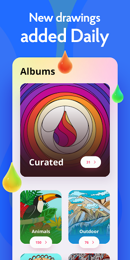 Painting games: Adult Coloring Books, Drawings 2.1.0 screenshots 5