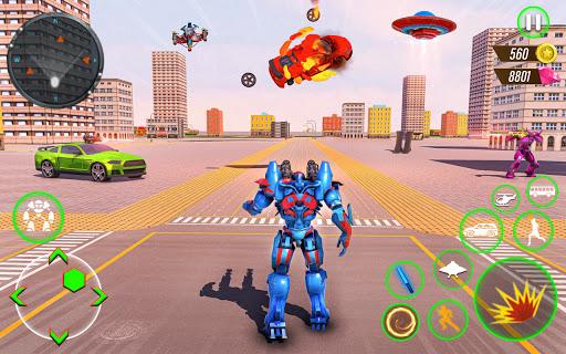 Bus Robot Car Transform Waru2013 Spaceship Robot game  screenshots 1