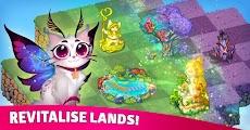 Merge Cats: Magic merging, garden renovation gamesのおすすめ画像1