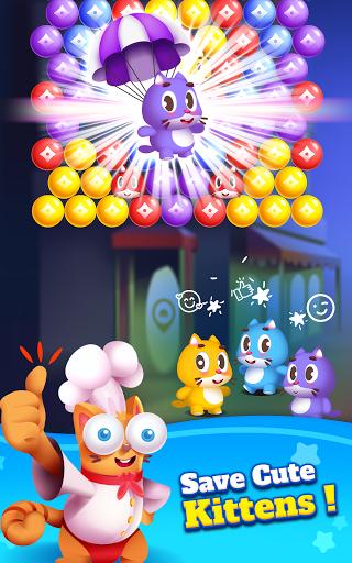Kitten Games - Bubble Shooter Cooking Game apkmr screenshots 20