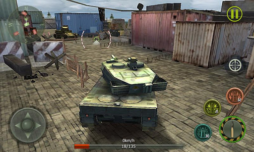 Tank Strike 3D - War Machines 2.0 screenshots 2