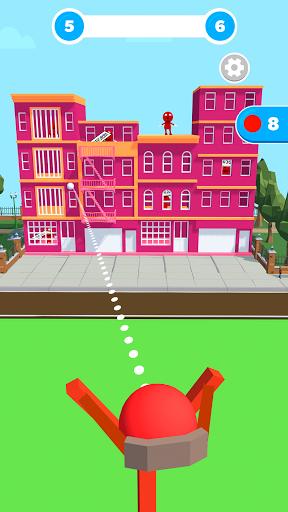 Slingshot Smash: Shooting Range android2mod screenshots 1