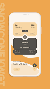 Snow Cone For KWGT Pro (MOD APK, Paid/Patched) v5.0 2