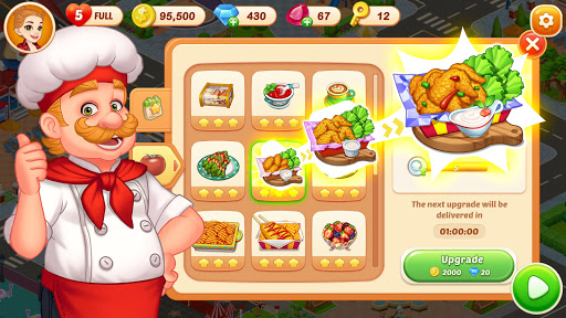 Crazy Diner: Crazy Chef's Kitchen Adventure android2mod screenshots 4