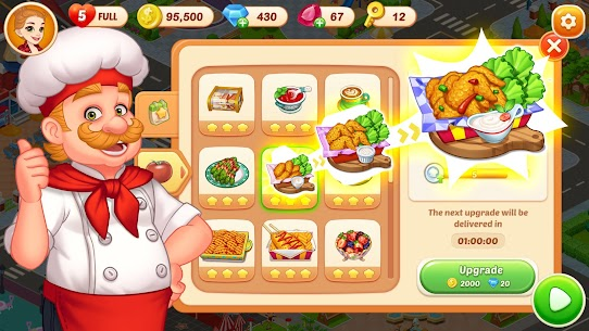 Crazy Diner: Crazy Chef's Kitchen Adventure Mod Apk 1.0.11 (Unlimited Currency) 4