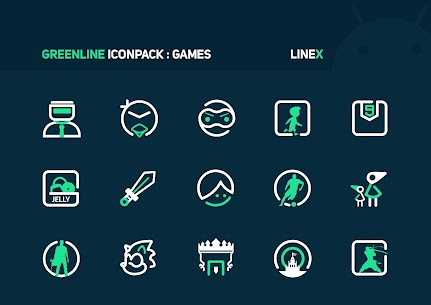 GreenLine Icon Pack APK Download for Android 6