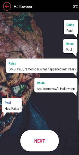 Text Thrilling Scary: Chat Stories 2.9 screenshots 5