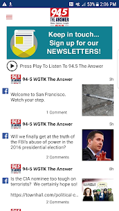 94.5 WGTK The Answer 4.1.0 APK Mod for Android 1