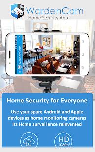 Home Security Camera WardenCam - reuse old phones 2.8.2 Screenshots 1