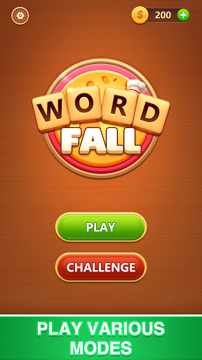 Word Fall - Brain training search word puzzle game android2mod screenshots 6
