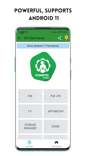 LFX Tool Custom- GFX Tool, IPAD View No Grass PUBG android2mod screenshots 1