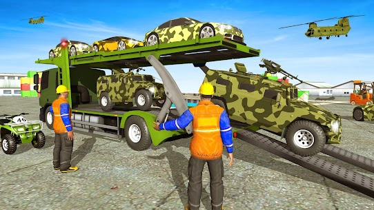 US Army Off-road Truck Driver 3 APK + MOD (Unlimited Money) 4