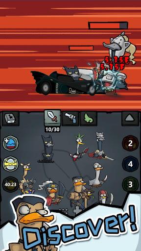 Merge Duck - Idle Click RPG apktram screenshots 4