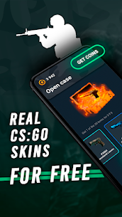 Go Cases: csgo free real skins case opener,clicker 1