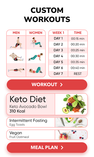 BetterMe: Home Workouts & Diet 4.0.4 Screenshots 3