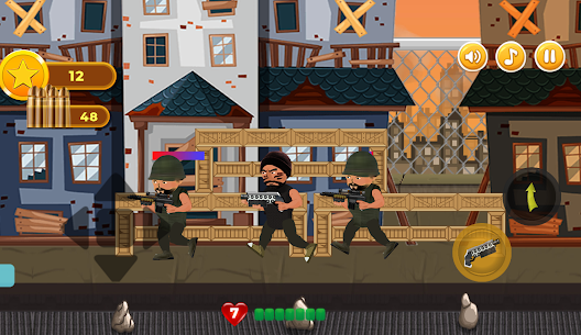 Revenge of Hero: 2D Platform Action Shooter Game For Android 2
