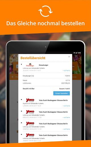 Lieferservice.de  screenshots 10