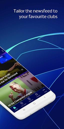 Champions League Official: news & Fantasy Football android2mod screenshots 2