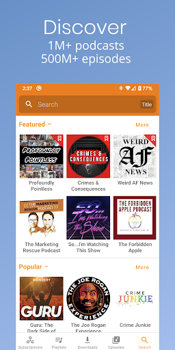 Podcast Republic - Podcast Player & Podcast App android2mod screenshots 6