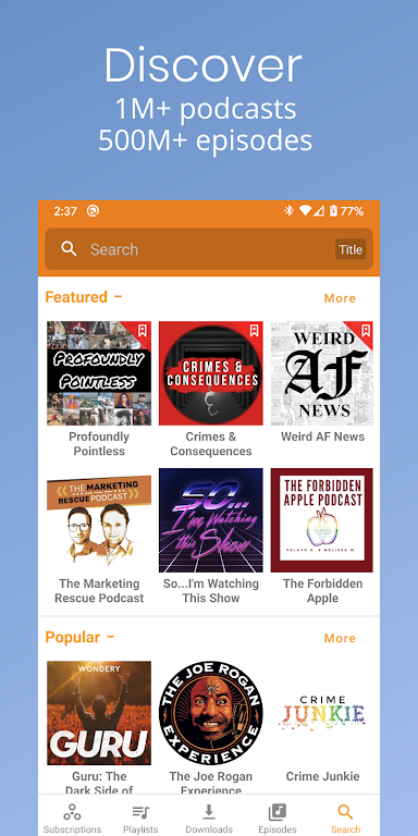 Podcast Republic - Podcast Player & Podcast App poster 5