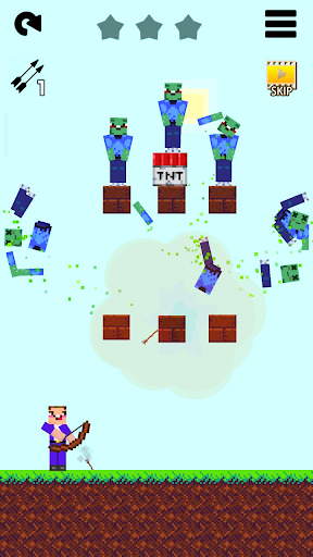 Mr Noob vs 1000 zombies - Lucky Block story apktram screenshots 4