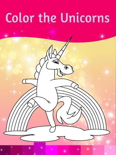 Unicorn Coloring Pages with Animation Effects 3.3 screenshots 5