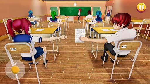 YUMI High School Simulator: Anime Girl Games  screenshots 9