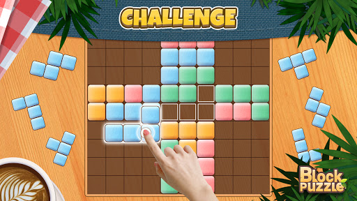 Wood Block Puzzle: Classic wood block puzzle games android2mod screenshots 11