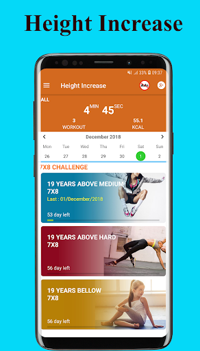 Height Increase Exercise - Workout height increase  Screenshots 10