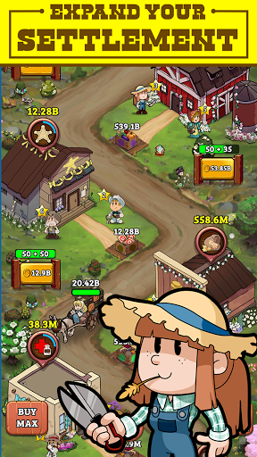 Idle Frontier: Tap Town Tycoon 1.057 screenshots 3