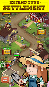 Idle Frontier: Tap Town Tycoon Mod Apk (Free Upgrade) 3