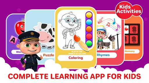 ABC Song - Rhymes Videos, Games, Phonics Learning  Screenshots 9