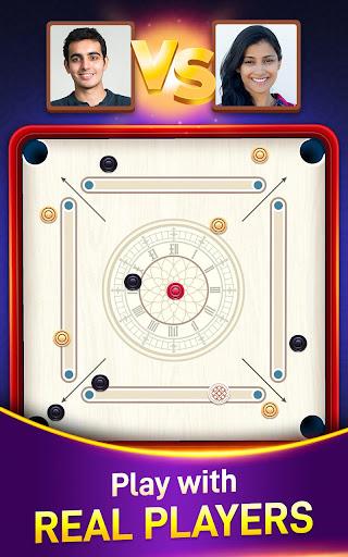 Carrom Board Game Online   Play Carrom Stars in 3D  screenshots 1