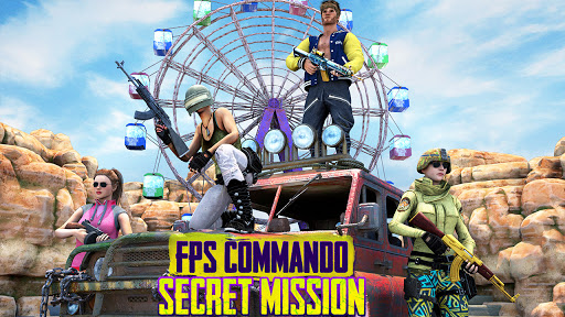 FPS Commando Secret Mission - Real Shooting Games apkpoly screenshots 6