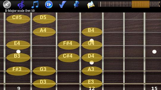 Guitar Scales & Chords Pro (MOD APK, Paid) v125 2
