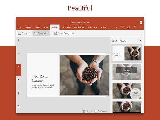 Microsoft PowerPoint: Slideshows and Presentations Apkfinish screenshots 7