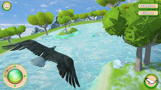 Golden Eagle Survival Simulator: Fish Hunting 3D  screenshots 1