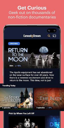 CuriosityStream - Stream Documentaries 3.6.37.1 screenshots 1