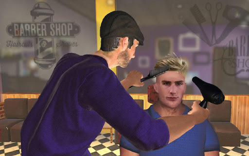 Barber Shop Hair Salon Cut Hair Cutting Games 3D 2.4 screenshots 14