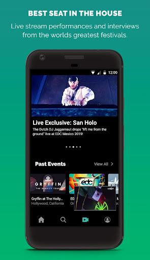 LiveXLive - Streaming Music and Live Events apktram screenshots 2