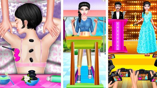 スーパーモデル-ファッションスタイリストビューティー-ドレスアップ-ガールズ