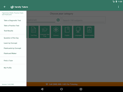 High School Math  Practice Tests and Flashcards Apk 5