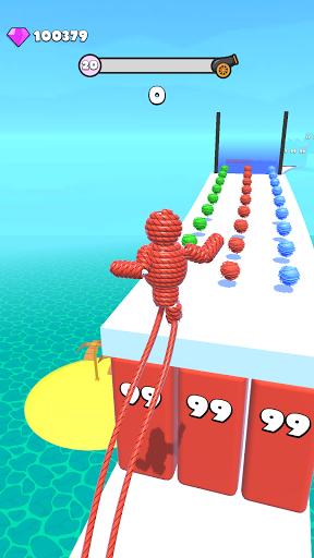 Rope-Man Run screenshots 1