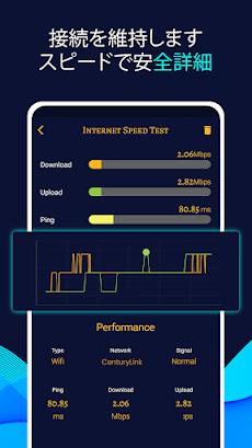 インターネット スピードテスト メーター 3G 4G 5G 速度 テスト メーターのおすすめ画像2