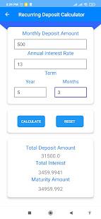 Easy Loan EMI & Financial Calculator