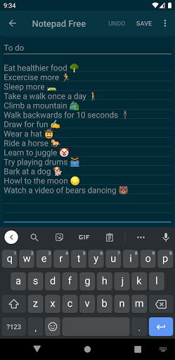 Notepad Free apktram screenshots 4
