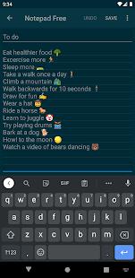 Notepad Free  Screenshots 4