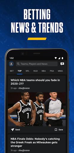 theScore: Live Sports Scores, News, Stats & Videos  Screenshots 5