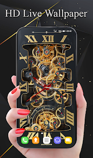 Tourbillon 3D Watch Wallpaper and Keyboard Screenshot
